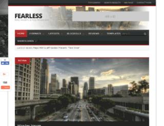 fearless.mochathemes.com screenshot