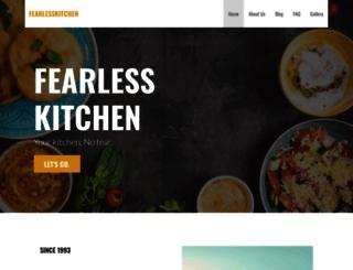 fearlesskitchen.com screenshot