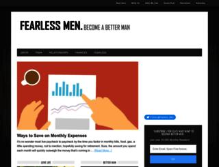 fearlessmen.com screenshot