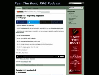 feartheboot.com screenshot