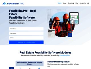 feasibility.pro screenshot