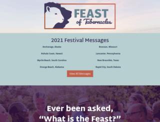 feast.cogwa.org screenshot
