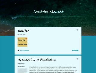 feastforthought.blogspot.co.uk screenshot