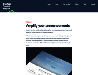 featured.nouncy.com screenshot