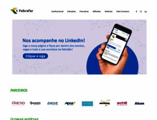 febrafar.com.br screenshot