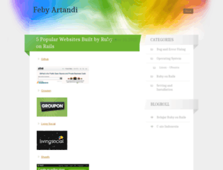 febyartandi.wordpress.com screenshot