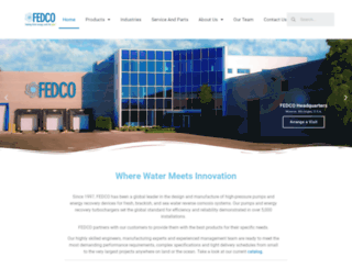 fedco-usa.com screenshot