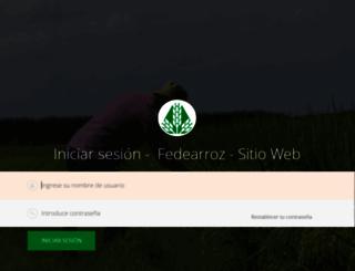 fedearroz.com.co screenshot