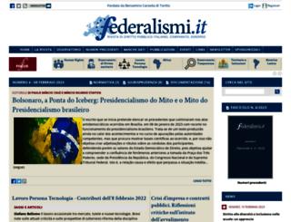 federalismi.net screenshot