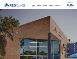 fedglass.co.za screenshot