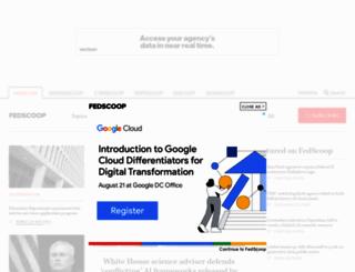 fedscoop.com screenshot
