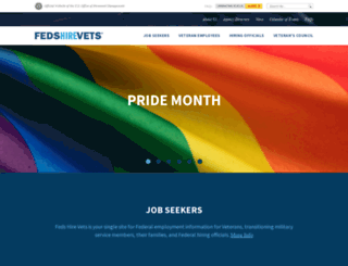 fedshirevets.gov screenshot