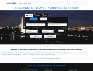 fedtravel.com screenshot