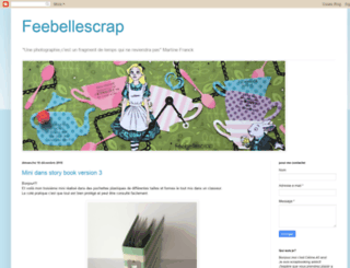 feebellescrap.blogspot.fr screenshot