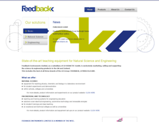 feedback-instruments.com screenshot