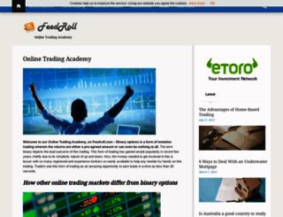 feedroll.com screenshot