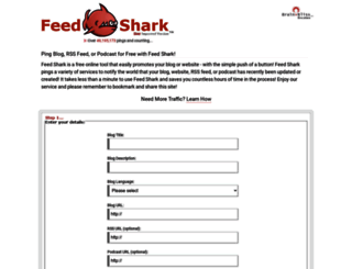 feedshark.brainbliss.com screenshot