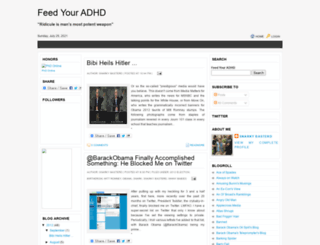 feedyouradhd.blogspot.com screenshot