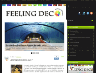 feeling-deco.com screenshot