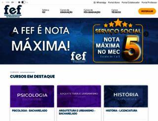 fef.br screenshot