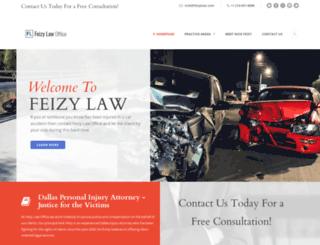 feizylaw.com screenshot