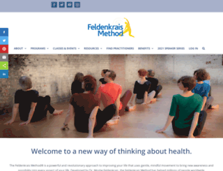 feldenkrais.com screenshot