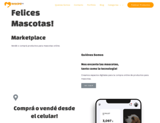 felicesmascotas.com screenshot