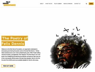 felixdennis.com screenshot