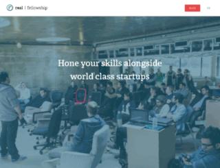 fellowship.realventures.com screenshot