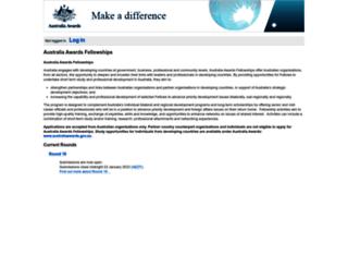 fellowships.smartygrants.com.au screenshot