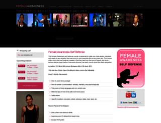 femaleawareness.com screenshot