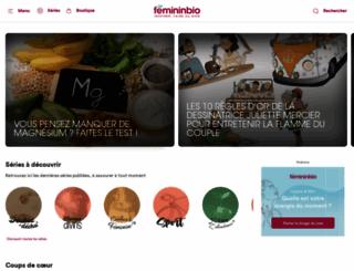 femininbio.com screenshot