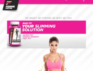 femmefactor.com screenshot