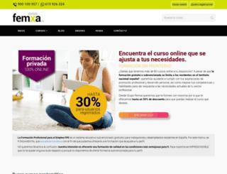 femxa.com screenshot