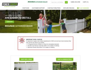 fencecenter.com screenshot