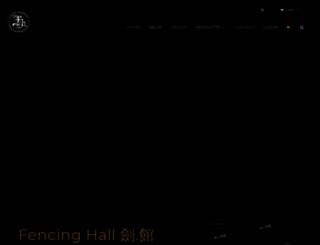 fencinghall.net screenshot