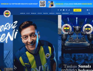fenerbahce.com screenshot