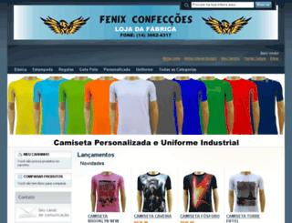 fenixconfeccao.com.br screenshot