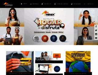 fenixconstrucciones.com screenshot