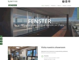 fenster.es screenshot