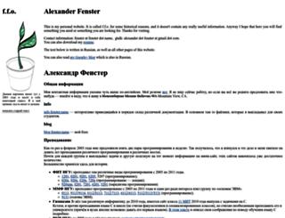 fenster.name screenshot