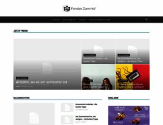fensterzumhof.eu screenshot