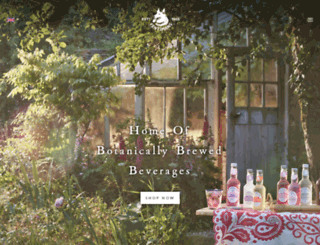 fentimans.com screenshot