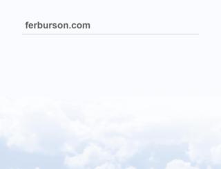ferburson.com screenshot