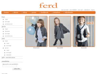 ferdkids.com screenshot