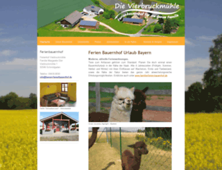 ferienbauernhof.jimdo.com screenshot
