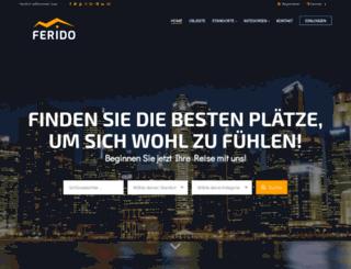 ferienhaus-portal.at screenshot