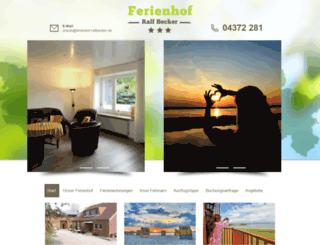 ferienhof-ralfbecker.de screenshot