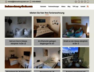 ferienwohnung-koeln.com screenshot