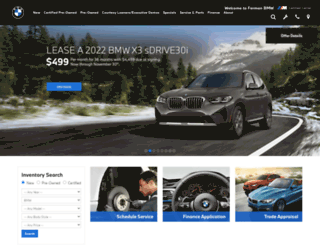 fermanbmw.com screenshot